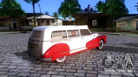 Buick Special Ambulance para GTA San Andreas