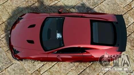 Lexus LFA 2012 Nurburgring Edition para GTA 4 vista direita