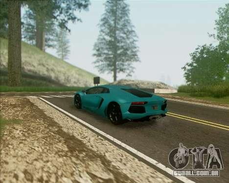 ENB v 1.1 para médio- e de alta potência PC para GTA San Andreas segunda tela