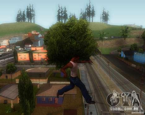 GTA IV Animations v1.1 para GTA San Andreas por diante tela