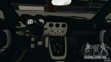Alfa Romeo 8C Competizione Body Kit 1 para GTA 4 vista interior