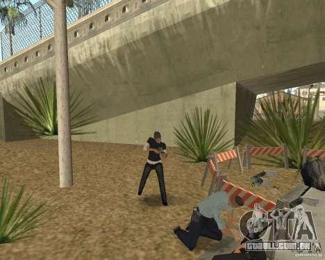 Cena do crime (cena do Crime) para GTA San Andreas sexta tela