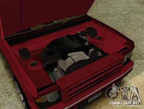 Huntley Freelander para GTA San Andreas vista direita