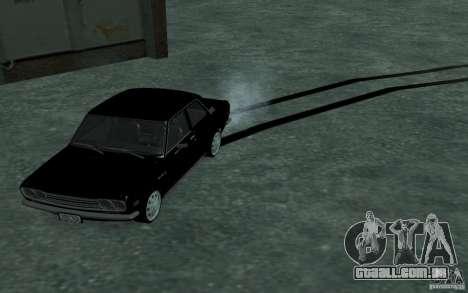 Datsun 510 para GTA San Andreas vista traseira