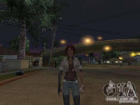 Remember Me Nilin para GTA San Andreas segunda tela