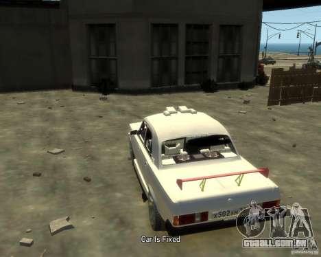 GAZ 3102 para GTA 4 traseira esquerda vista
