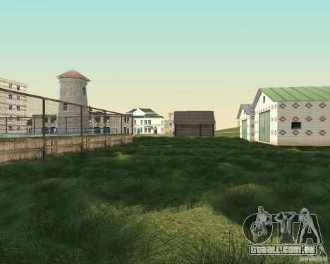 Novo campo de distrito dos sonhos para GTA San Andreas sexta tela