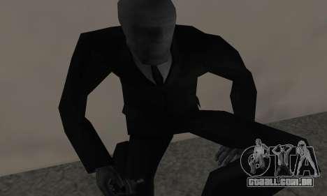 Slender Man para GTA San Andreas terceira tela