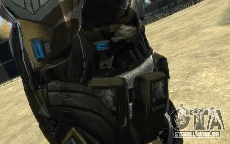 Crysis 3 The Hunter skin para GTA 4 oitavo tela