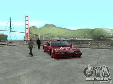 ENBSeries by Chris12345 para GTA San Andreas segunda tela
