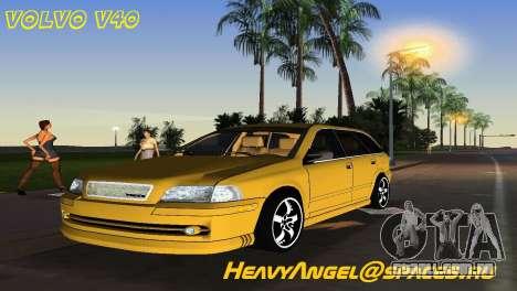 VOLVO V40 para GTA Vice City