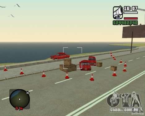 Estrada de Leiria-Nižegorodsk para GTA San Andreas terceira tela