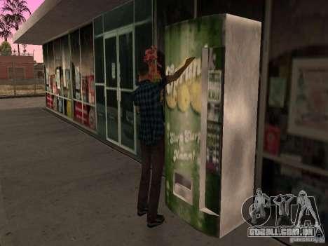 Posto ocupado em Los Santos para GTA San Andreas sexta tela