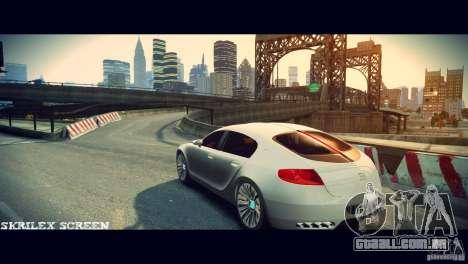 Bugatti Galibier 16C (Bug fix) para GTA 4 vista direita