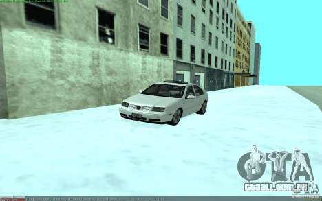 Volkswagen Bora 1.8 para GTA San Andreas vista direita