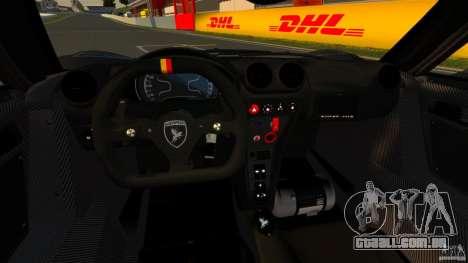 Gumpert Apollo Enraged 2012 para GTA 4 vista de volta