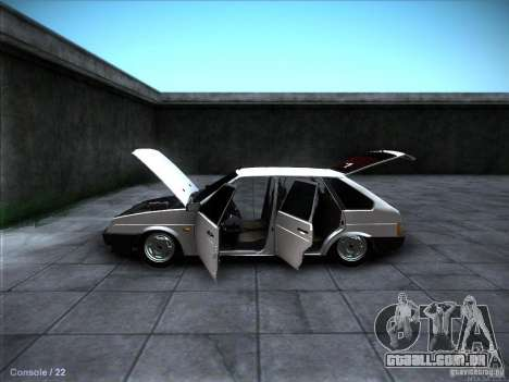 VAZ 2109 Rostov para GTA San Andreas interior