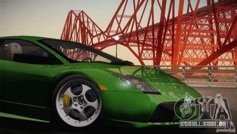 Lamborghini Murcielago 2002 v 1.0 para GTA San Andreas vista traseira
