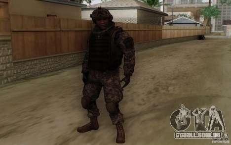 Sargento Foley de CoD: MW2 para GTA San Andreas