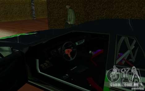 Elegia por PiT_buLL para GTA San Andreas vista traseira