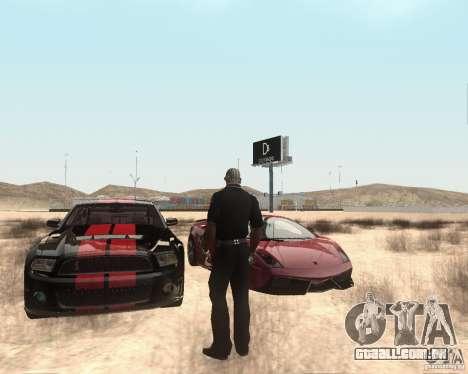 Star ENBSeries by Nikoo Bel para GTA San Andreas por diante tela