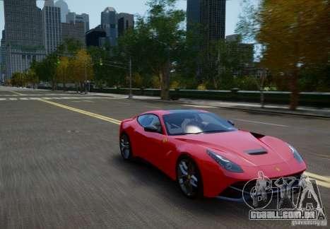 Ferrari F12 Berlinetta 2013 para GTA 4 vista direita