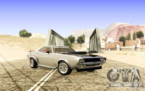 Dodge Charger 1969 SpeedHunters para GTA San Andreas