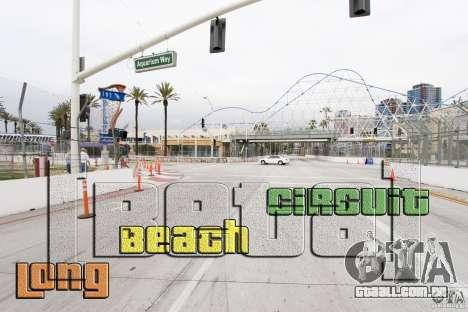 Long Beach Circuit [Beta] para GTA 4