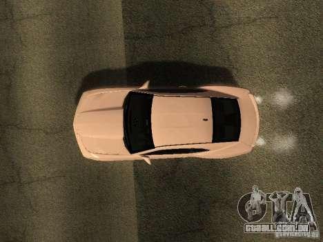 Chevrolet Camaro SS 2010 para GTA San Andreas vista traseira