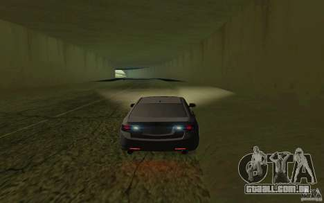 Honda Accord para GTA San Andreas vista interior