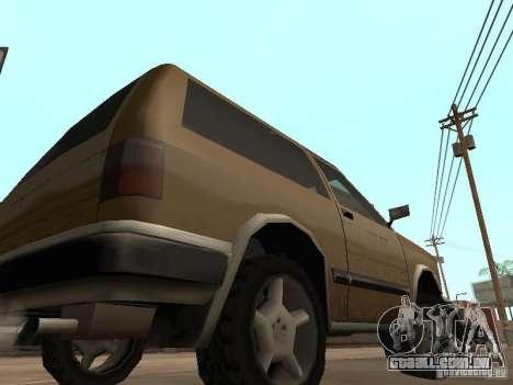 Nova Landstalker para GTA San Andreas vista traseira
