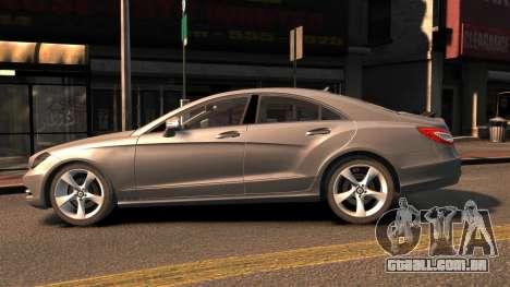 Mercedes-Benz DK CLS350 para GTA 4 esquerda vista