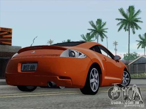 Mitsubishi Eclipse GT V6 para as rodas de GTA San Andreas
