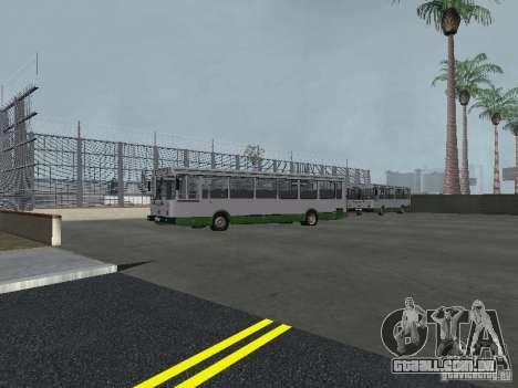 4-th ônibus v 1.0 para GTA San Andreas quinto tela
