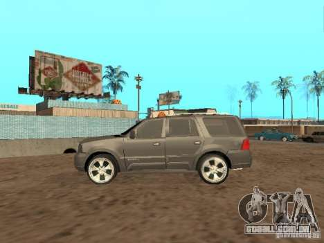 Lincoln Navigator 2004 para GTA San Andreas vista traseira