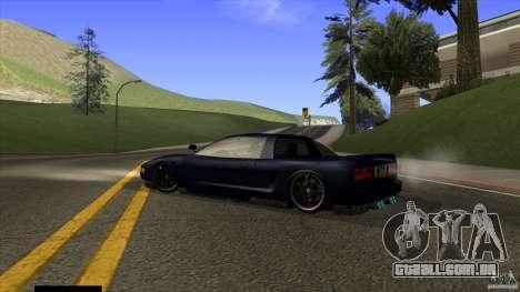 Infernus v3 by ZveR para GTA San Andreas esquerda vista