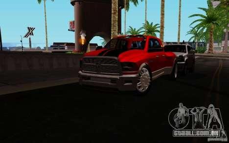 Dodge Ram 3500 Tuning para GTA San Andreas esquerda vista
