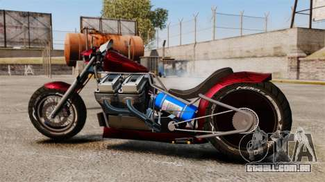 Dragbike Street Racer para GTA 4 esquerda vista