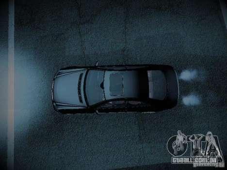 Mercedes-Benz CLK 55 AMG Coupe para GTA San Andreas vista traseira