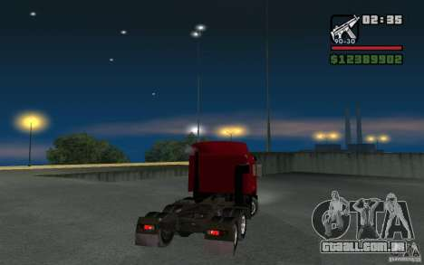 Maz-643068 para GTA San Andreas esquerda vista