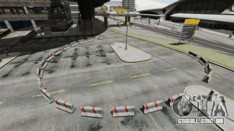 Drift-pista no aeroporto para GTA 4 segundo screenshot