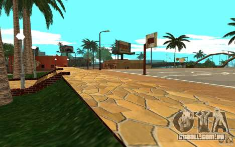 Nova quadra de basquete de texturas para GTA San Andreas