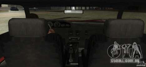Sultan SRX para GTA San Andreas vista direita