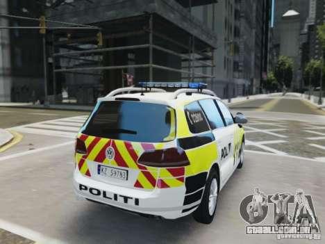 Volkswagen Passat B7 Variant 2012 para GTA 4 vista direita