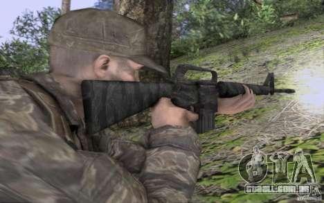 M16A1 Vietnam war para GTA San Andreas segunda tela