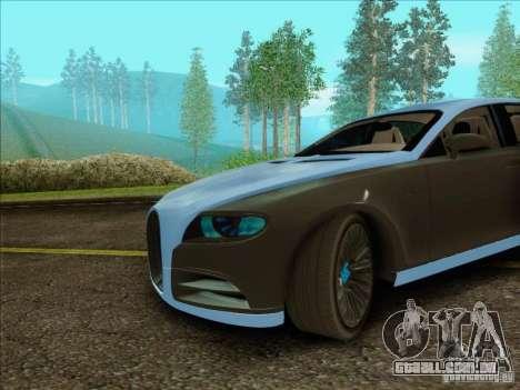 Bugatti Galibier 16c para GTA San Andreas esquerda vista