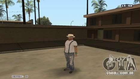 Construir peles Rifa para GTA San Andreas segunda tela