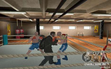 The combat system from GTA IV para GTA San Andreas por diante tela