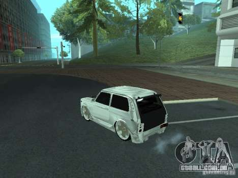 VAZ 2121 Final para GTA San Andreas esquerda vista