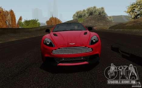 Aston Martin Vanquish 2012 para GTA San Andreas esquerda vista